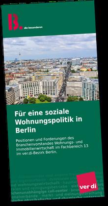 """Broschüre """"Für eine soziale Wohnungspolitik in Berlin"""""""