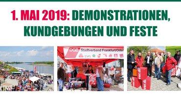 1. Mai in Brandenburg.